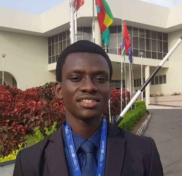 Muganzi David Jolly, The Vice President of the Federation of African Medical Students Associatio (FAMSA)