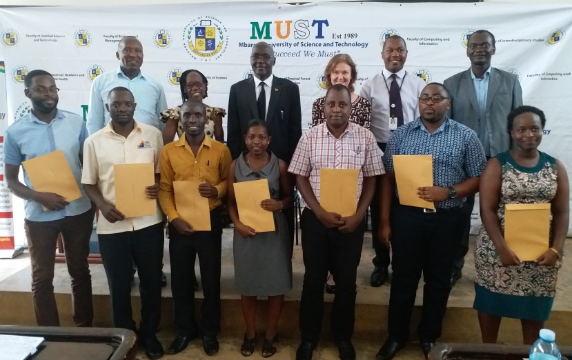 Global Health Collaboration awards MUST Students
