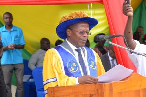 State Minister for Higher Education at 26th Graduation Ceremony