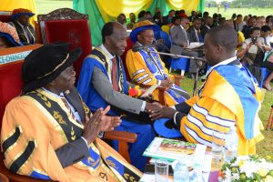 PhD Honor at 26th Graduation Mbarara University of Science and Technology