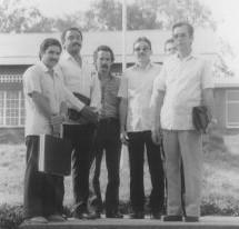 Cubans in Mbarara University Luminaries